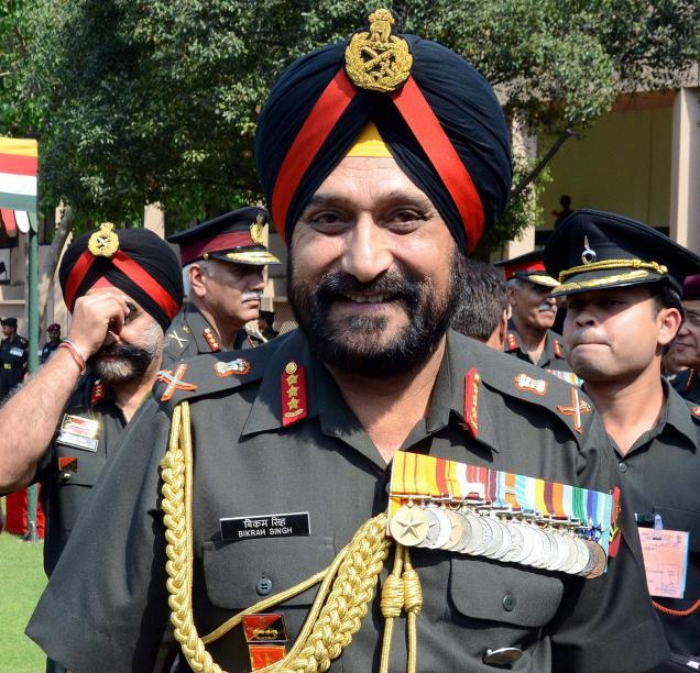 Nepal Army vs Indian Army Indian Army Chief Singh Wraps
