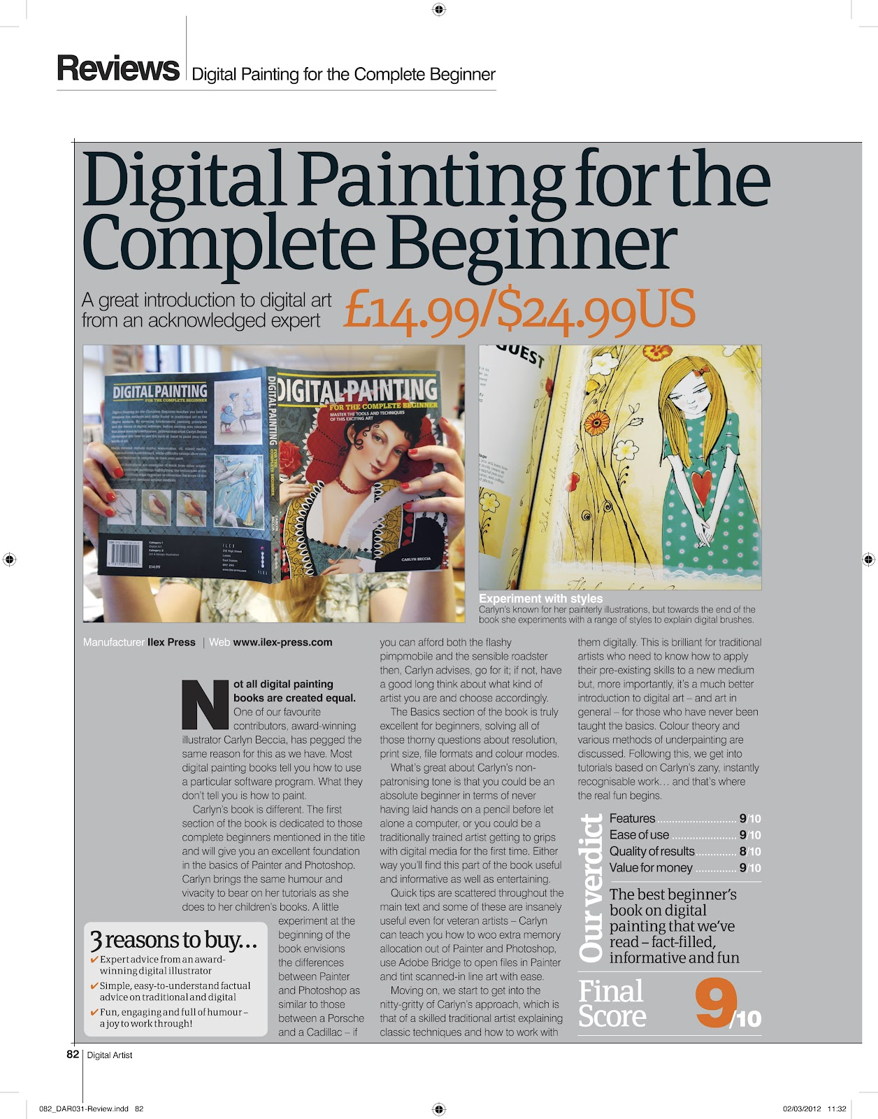 The Ballyhoo Digital Painting For The Complete Beginner In Stores Now