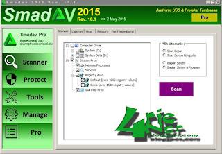 Smadav Pro 2015 versi 10.1 Full Keygen Terbaru