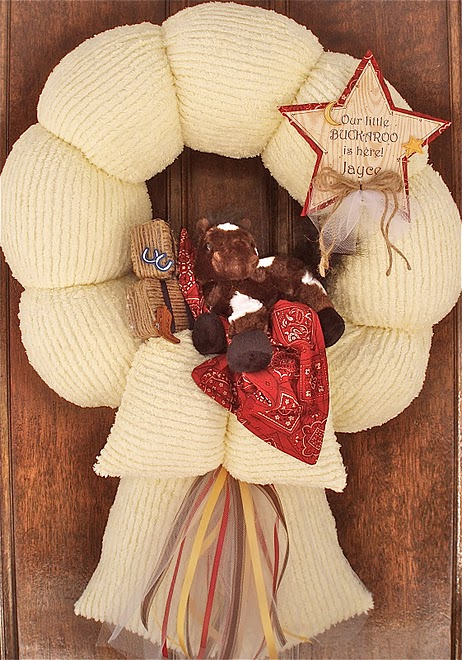 21. Buckaroo wreath