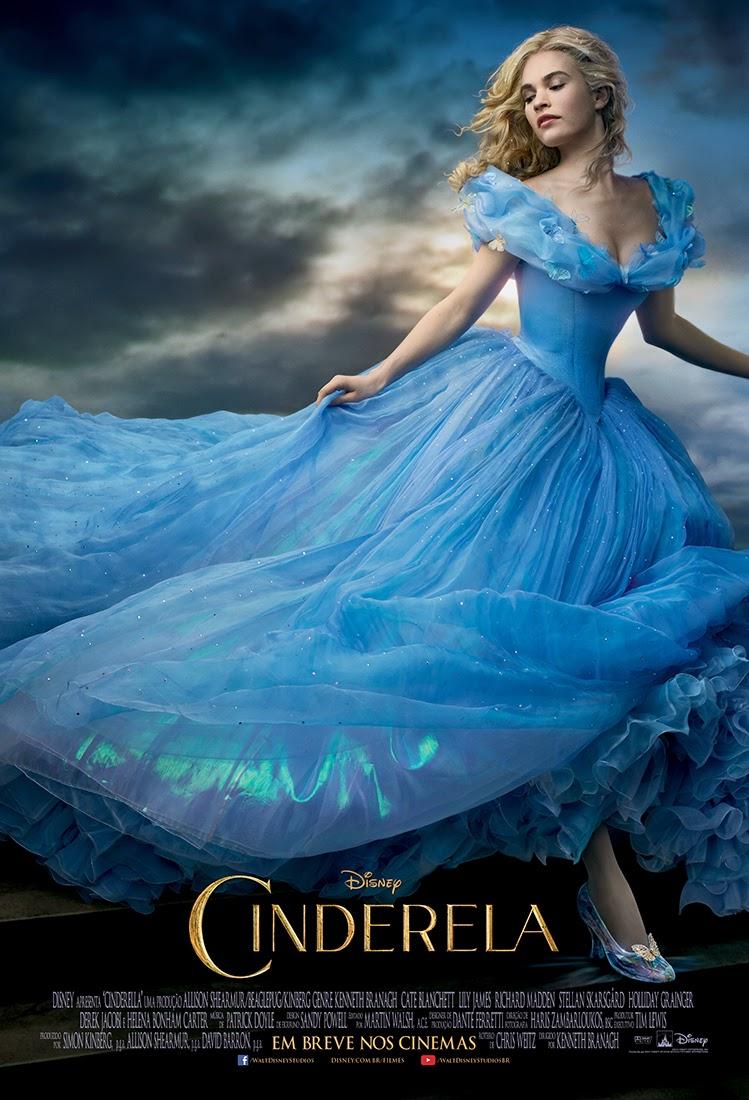 Pôster/capa/cartaz nacional de CINDERELA (Cinderella)
