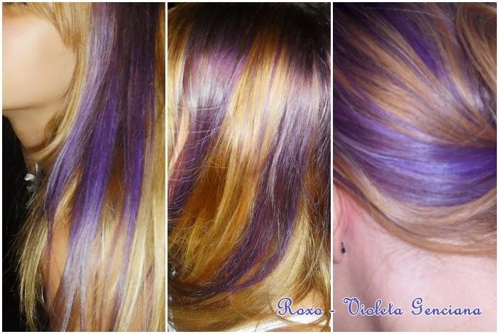 Excepcional Mundo Das Mulheres Brasil: Como tirar roxo do cabelo? Violeta Genciana QC47