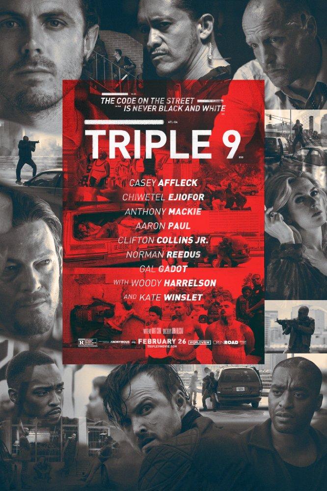 Nonton Triple 9 (2016)