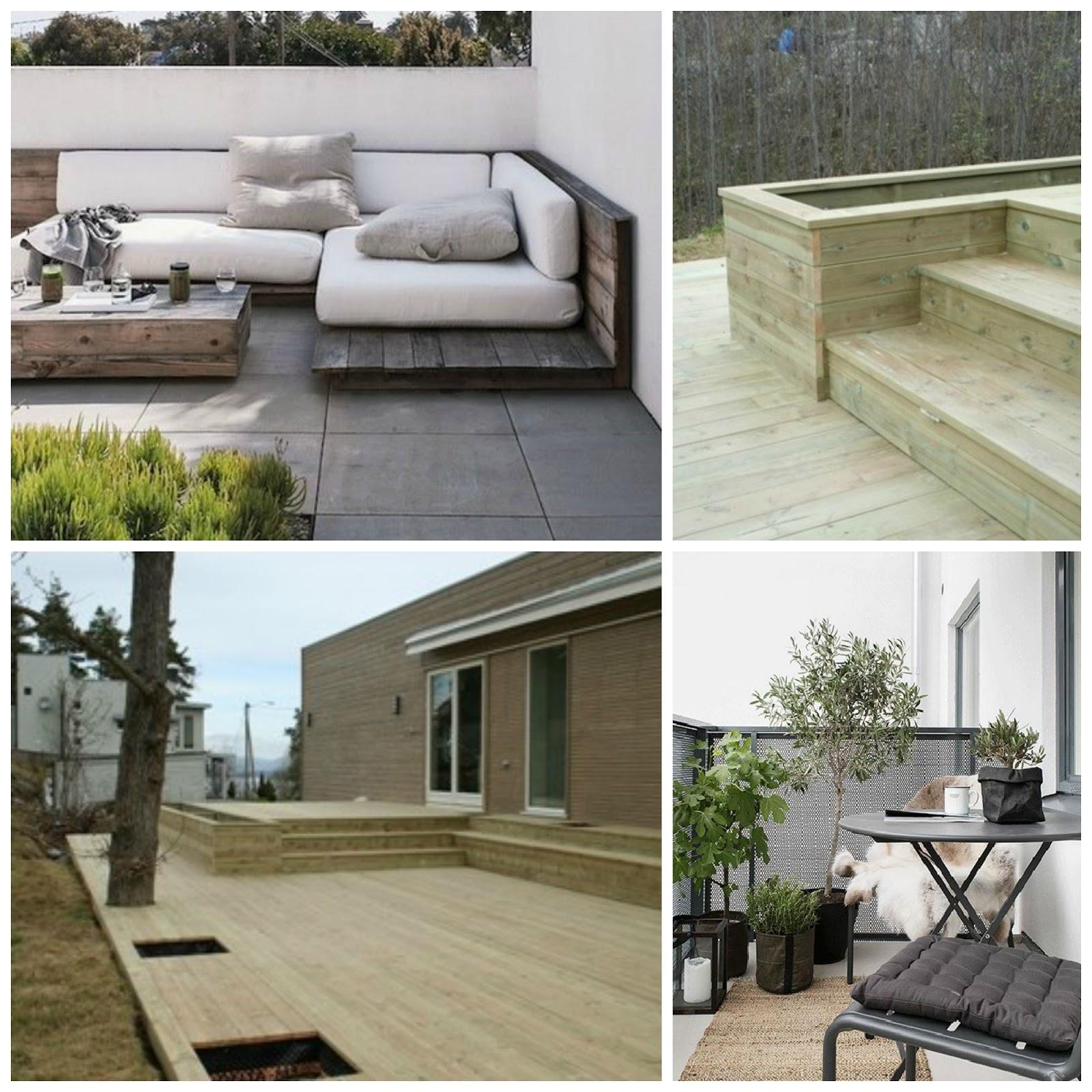møbler til terrassen