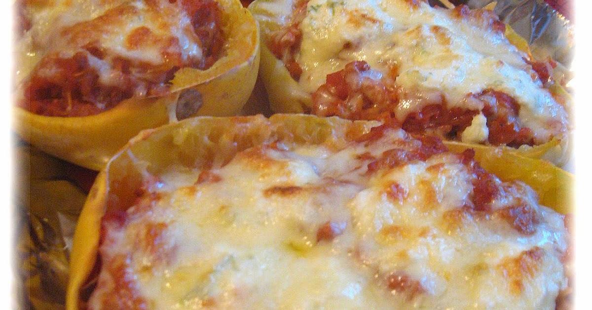 Courge spaghetti la saucisse gratin e - Cuisiner la courge spaghetti ...