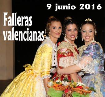 Falleras Mayores de Valencia