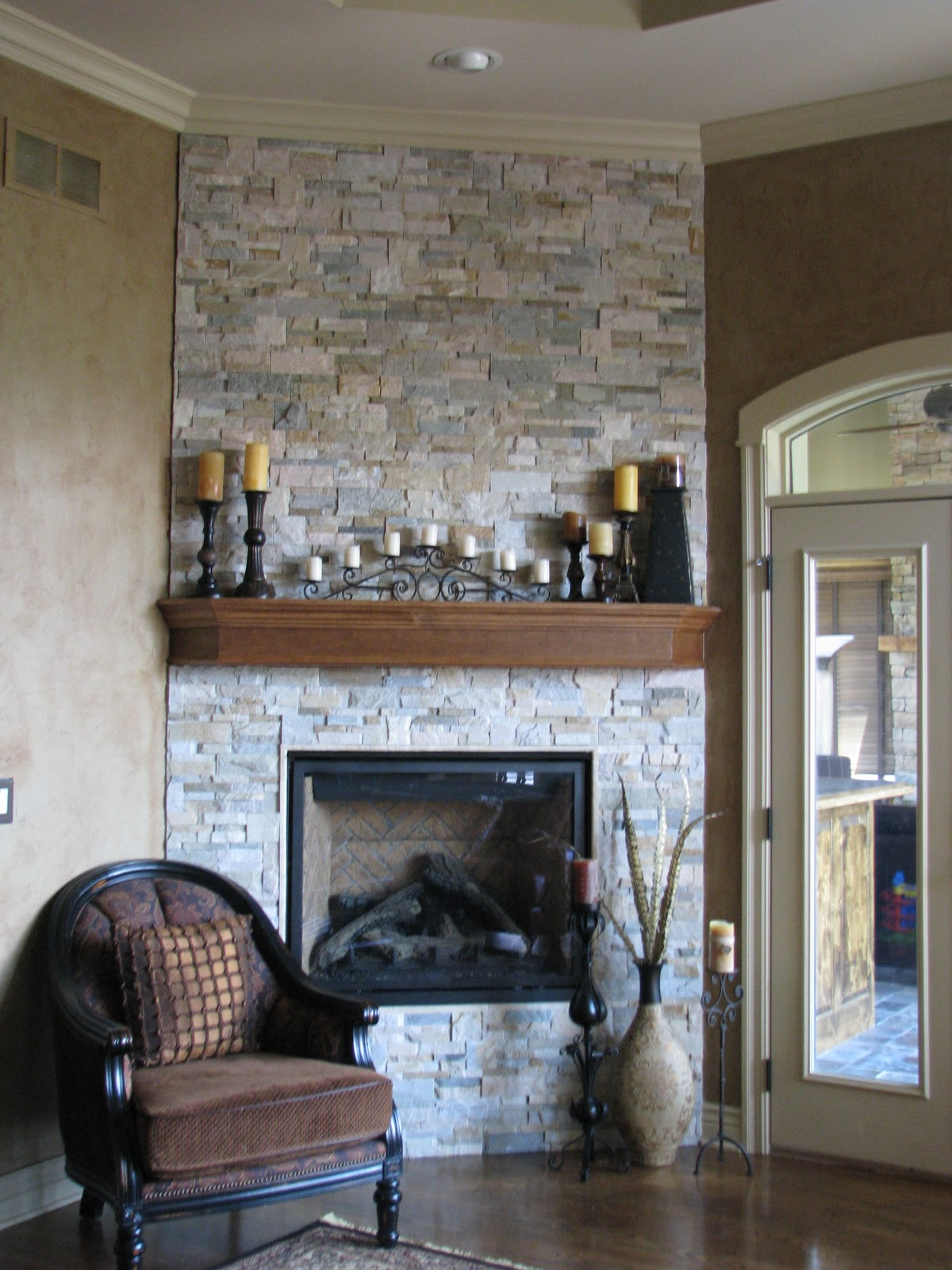We Can Paint Stain Your Brick Stone Fireplace The Magic Brush Inc Jennifer Allwood