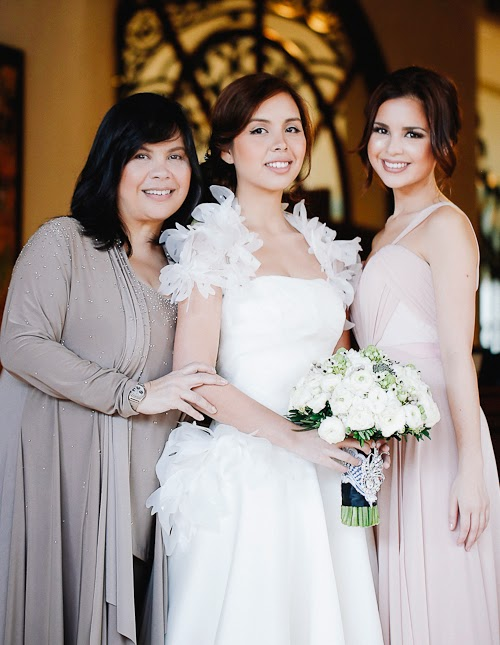 Celebrity Wedding Pao Valenciano Sam Godinez Via Mangored