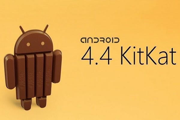 Porcentagem de aparelhos com Android KitKat dobrou no último mês