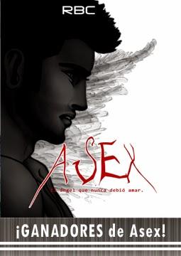 Descubre a los ganadores de las copias digitales de Asex, el ángel que no debió amar por RBCBOOK