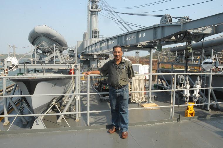 Visit to US Submarine Tender USS Emory S. Land (AS 39)