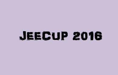 JEECUP 2016 Logo
