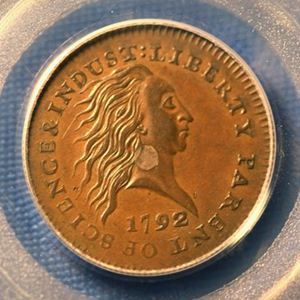 1792 penny