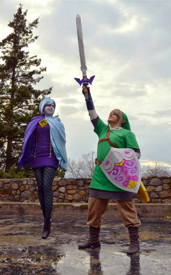 skyward sword link fi cosplay legend of zelda