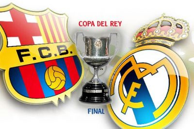 final de la Copa del Rey FC Barcelona Real Madrid 2011