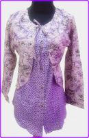 model baju batik ungu