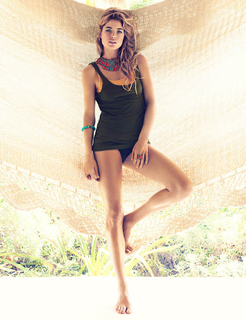 Doutzen Kroes HM summer 2013