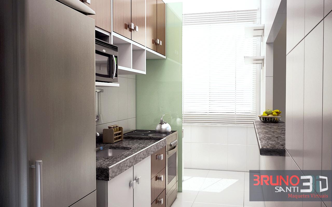 projeto cozinha modulada ap #BB1110 1280 800