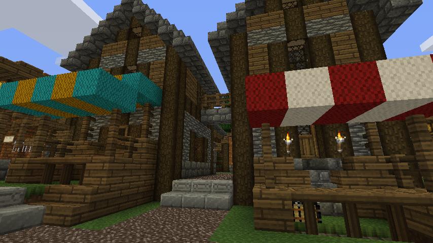 Minecraft Pazar Kurma