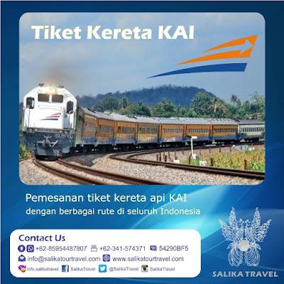 Pesan Tiket Kereta API KAI di Salika Travel