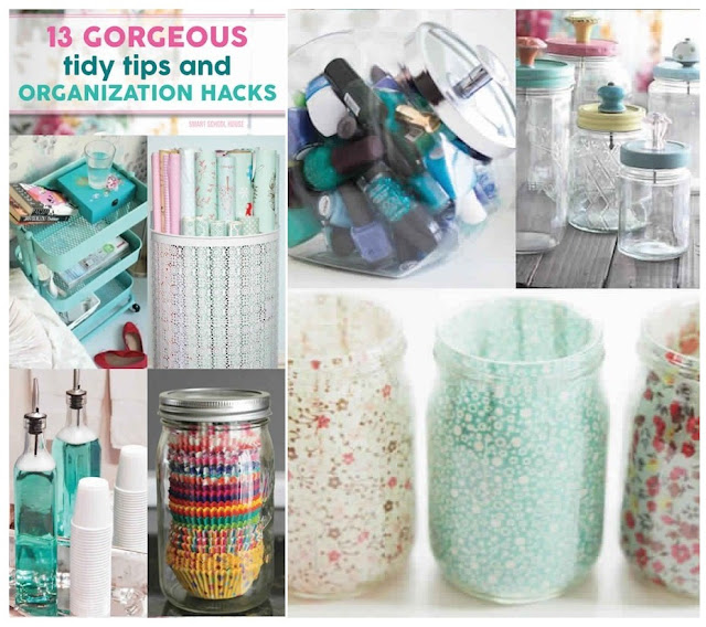 Gorgeous Tidy Tips & Organization Hacks