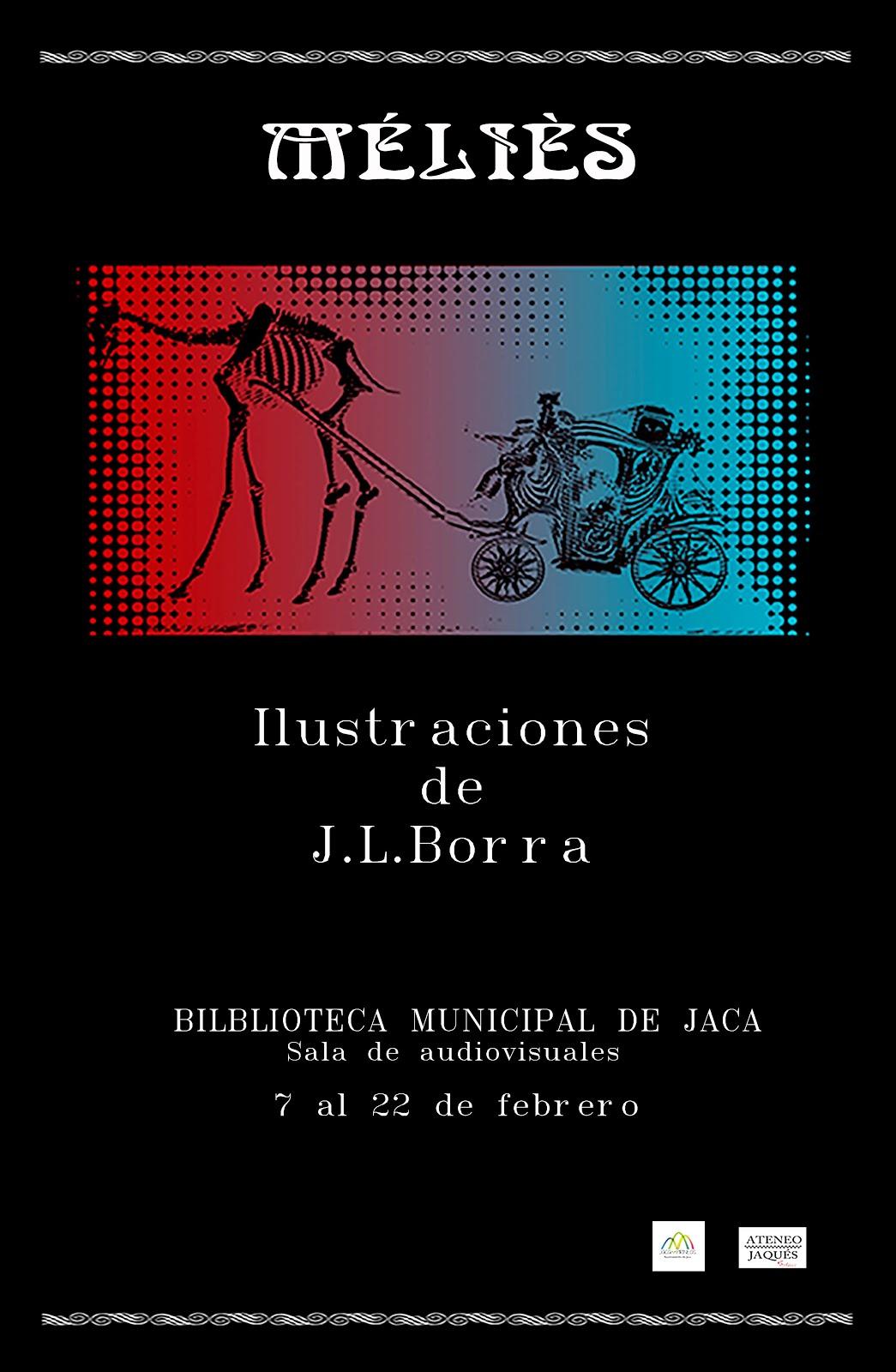 "JACA (7-22 febrero) Exposición ""Meliès"" de Juan Luis Borra"