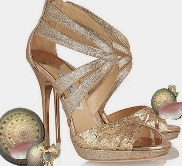 Bridal Accessories with Fashion Beautiful Footwear ...