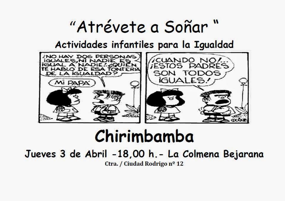 3/Abril: Actividades infantiles para la igualdad. Béjar
