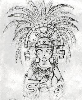 Dibujos Aztecas