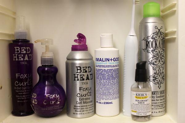 A look inside Bethann Wagner's beauty cabinet