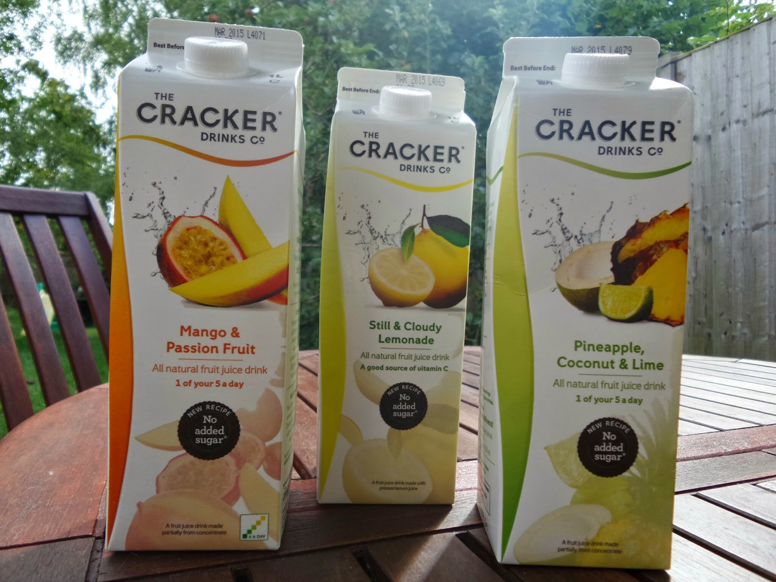 The Cracker Drinks Co Trio