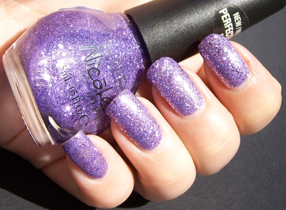 Nicole by OPI One Less Lonely Glitter - Polish This!