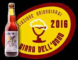 La Morosa Birra Dell'Anno 2016