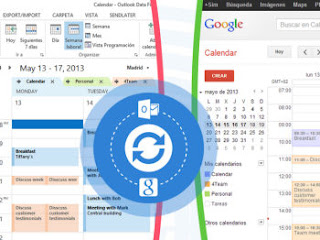 calendario google in microsoft outlook