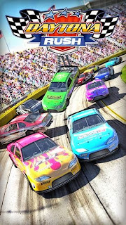 Screenshots of the Daytona rush for Android tablet, phone.