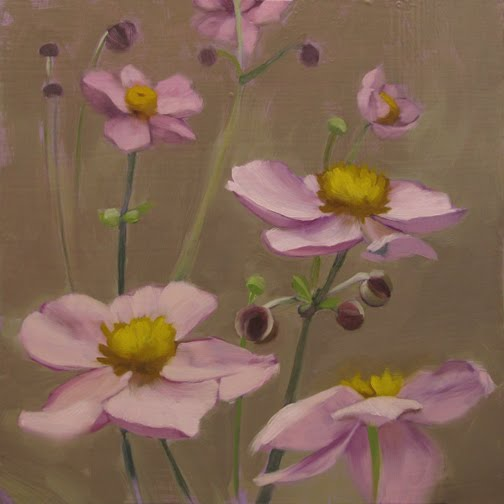Diane hoeptner pink cosmos painting of pink flowers pink cosmos painting of pink flowers mightylinksfo