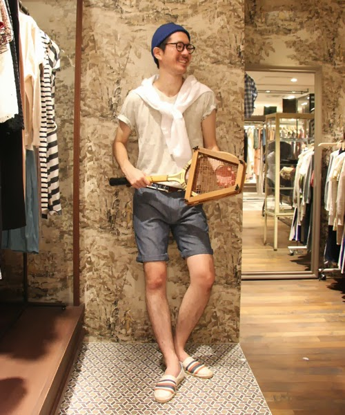 แฟชั่นกางเกงขาสั้นสำหรับผู้ชาย