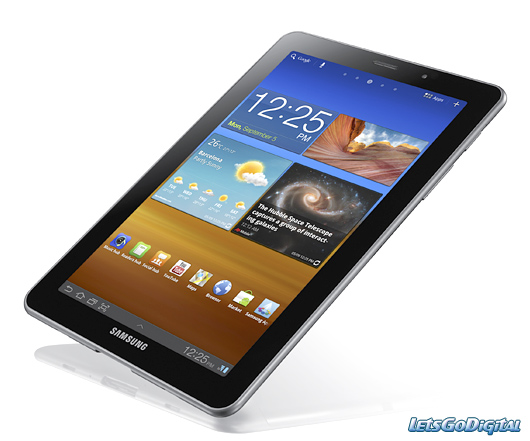 tech gadgets news samsung galaxy tab 7 7 android tablet. Black Bedroom Furniture Sets. Home Design Ideas