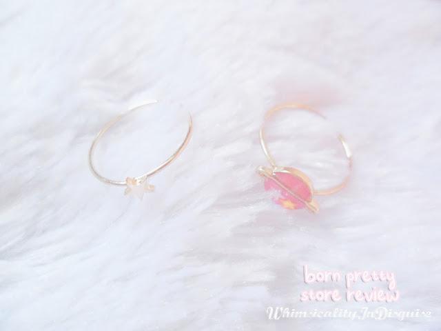 born pretty store Universe Star Mini Rhinestone Midi Ring Set review