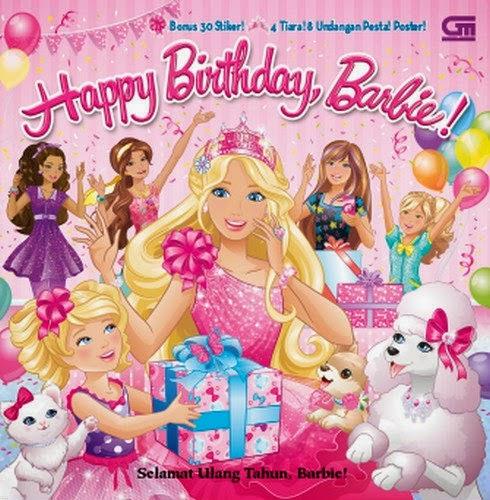 Buku Barbie : Selamat Ulang Tahun, Barbie