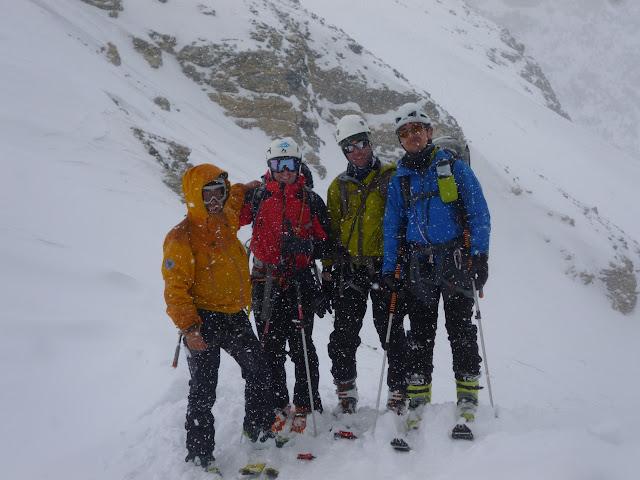 Esqui de travesia La Vanoise-Pralogan-Champagny