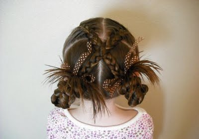 Moderne Frisuren für Erstkommunion 2012/2013