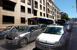 Embouteillages à Montpellier