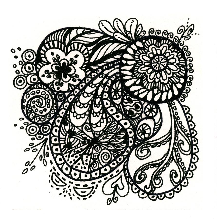 melissa walker nc abstract artist and art instructor new zentangles