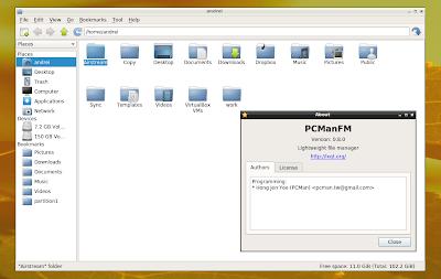 PCManFM-Qt LXQt