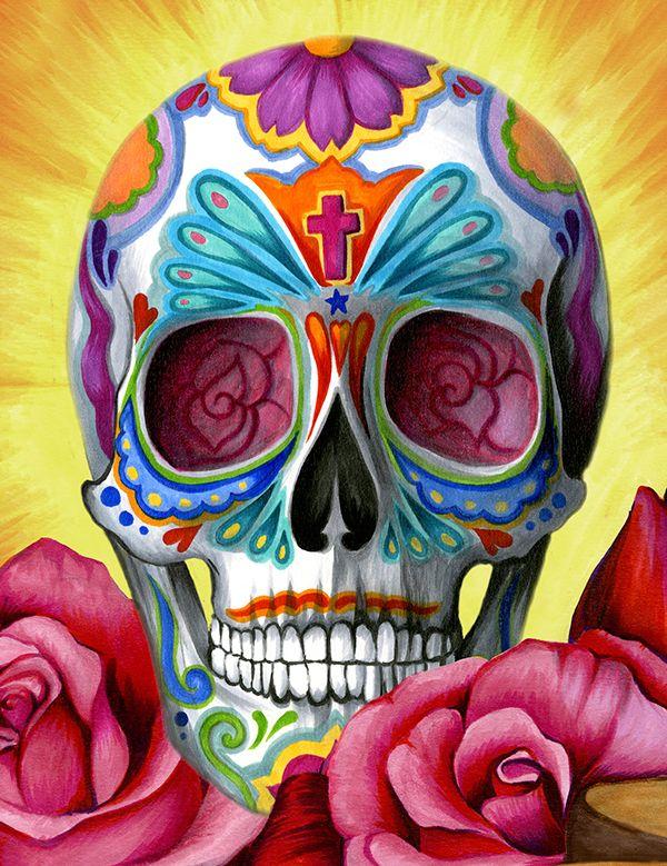 Calaveritas, Catrinas, Altares, Ofrendas e ilustraciones sobre el Día de Muertos. , Todos Santos , Fieles Difuntos