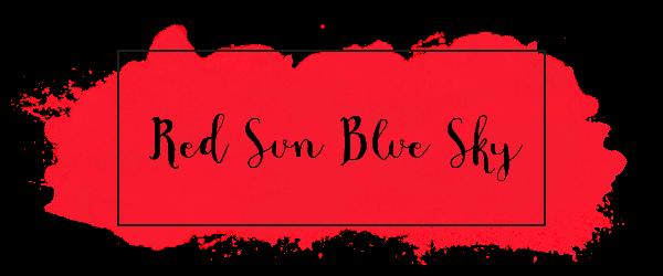 Red Sun Blue Sky