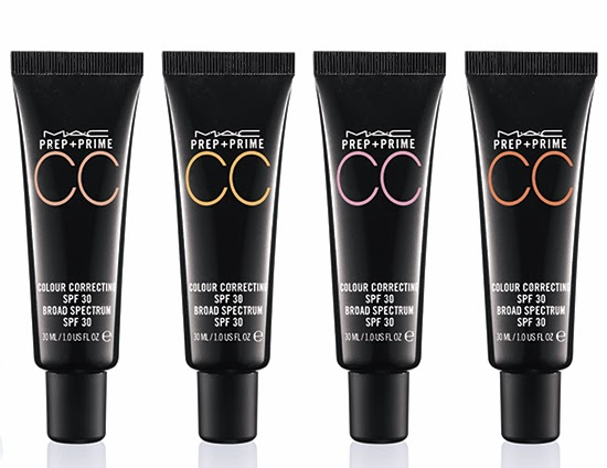 MAC Cosmetics Prep and Prime CC Colour Correcting SPF 30: A quick review