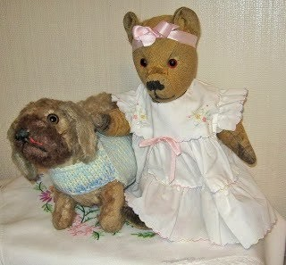 Pollys Vintage Bears and Pud Bears Website