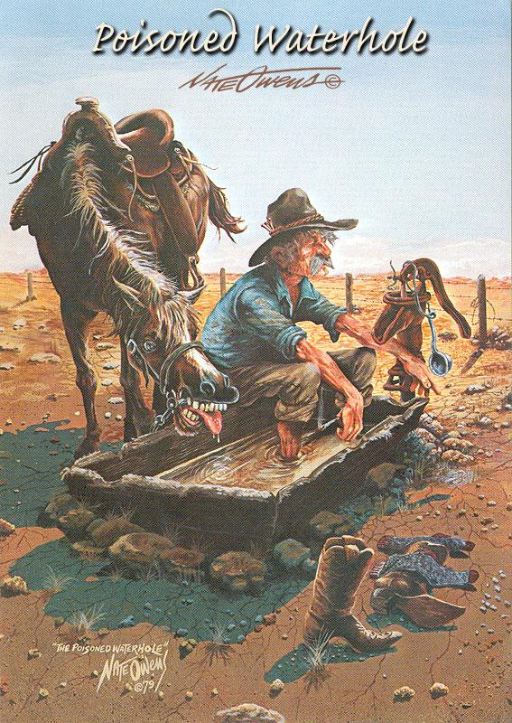 nate owens western cards cowboy